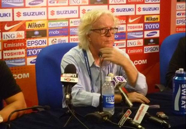 Winfried Schafer refuses to give up after defeat to Singapore