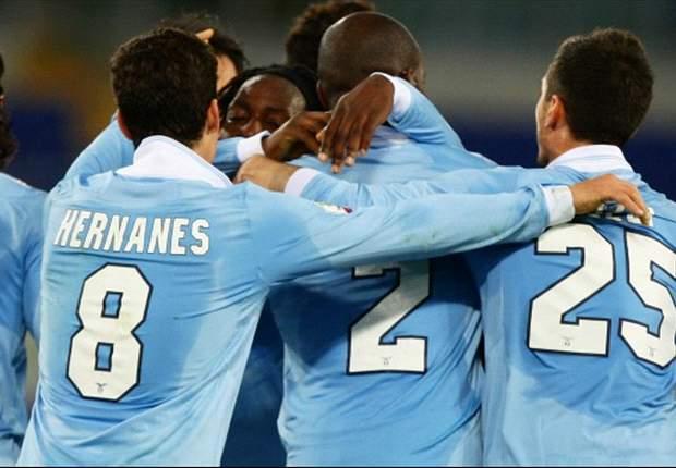 Lazio na strafschoppen door in Coppa Italia