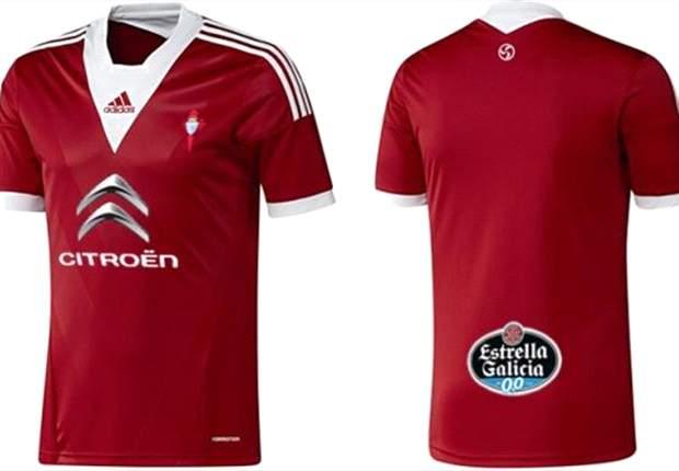 Celta estrenará una camiseta especial de Adidas para enfrentarse al Real Madrid en Copa