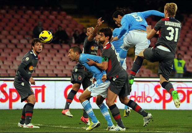 Napoli-Roma è la nostra prima singola del 2013. Due le idee: proviamo 1 e Over 3.5