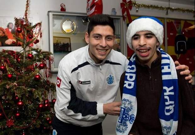 Alejandro Faurlín y una visita navideña del QPR