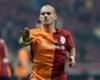 Sneijder'ın 500. maç talihsizliği