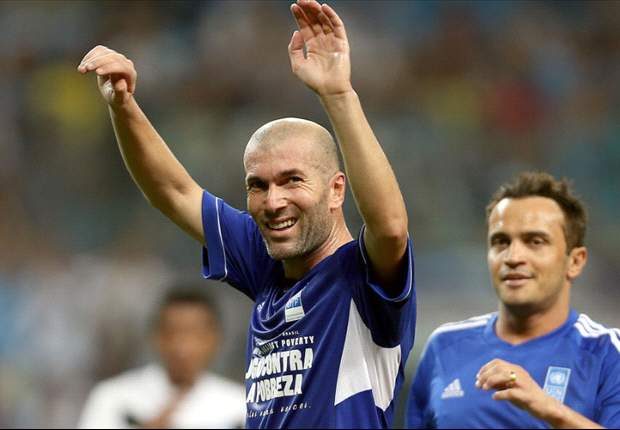 Zinedine Zidane apuesta por Brasil para el Mundial 2014