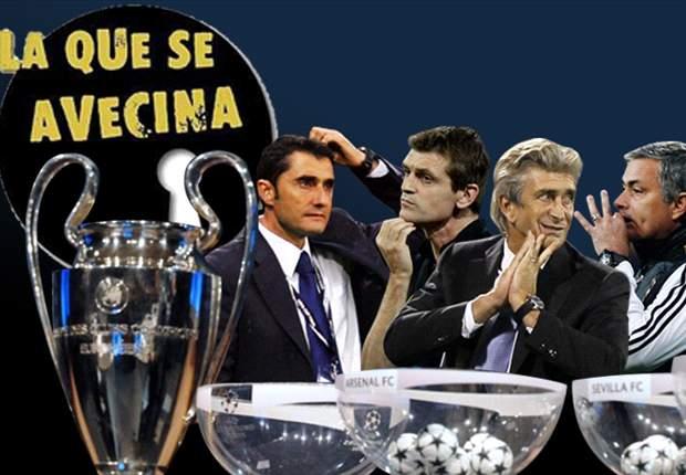 Champions League: 'La Que Se Avecina' en el fútbol español