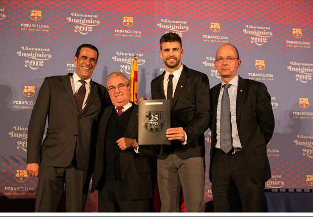 'My grandfather taught me what it meant to be a Barca fan' - Pique