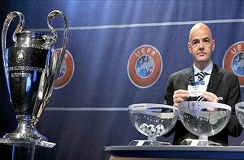 UEFA Champions League last 16 draw resulted in exact repeat of rehearsal