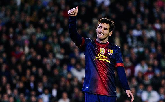 Messi und sein Jahr der Rekorde