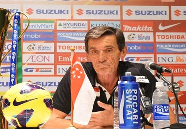 Raddy Avramovic confirms Singapore departure after Suzuki Cup final