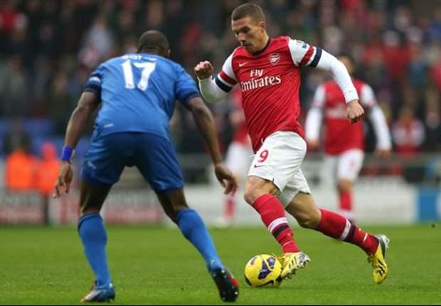 Laporan Pertandingan: Wigan Athletic 0-1 Arsenal