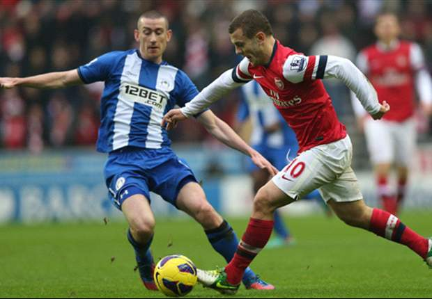 Wilshere proud of Arsenal 'character' to beat Wigan