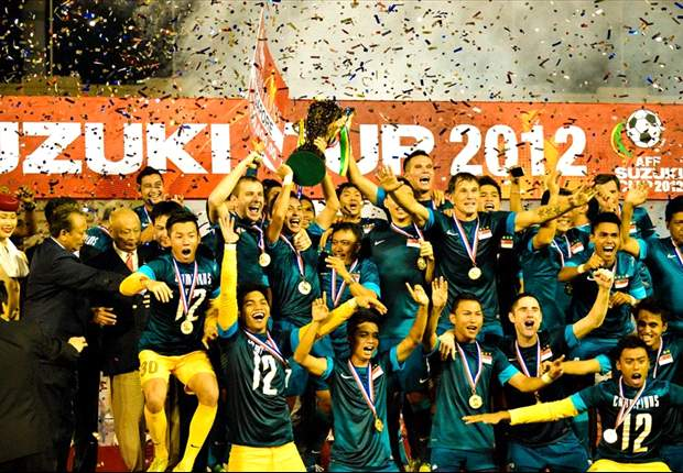 Singapore were crowned AFF Champions for a record fourth time in December of 2012