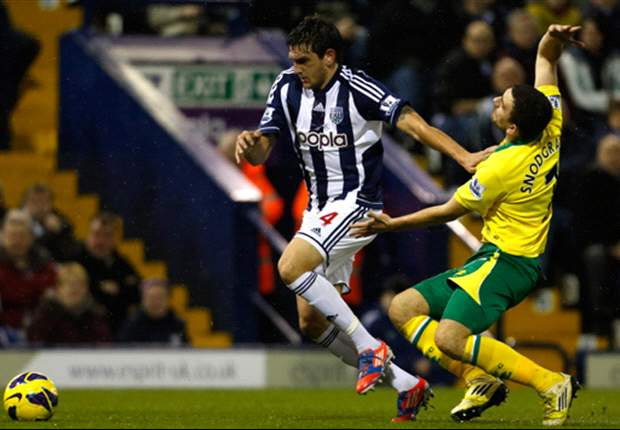 West Brom 2-1 Norwich City: Late Lukaku strike gets Baggies back to winning ways