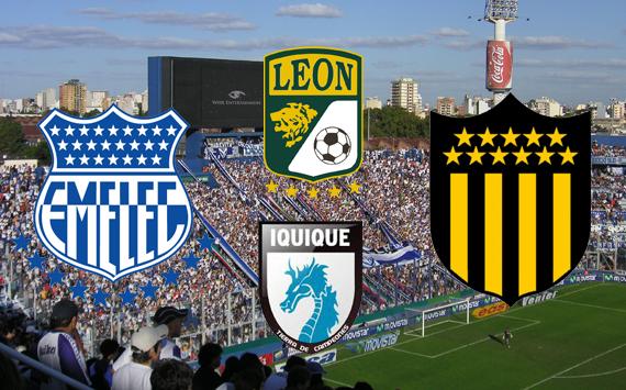 Los rivales de Vélez en la Copa Libertadores 2013