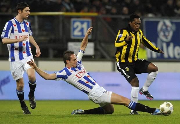 Heerenveen geeft Vitesse het nakijken
