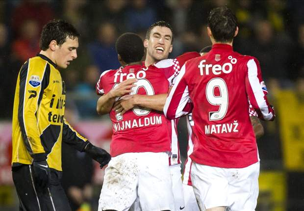 Eredivisie Round 18 Results: Ajax lose ground on PSV and Twente