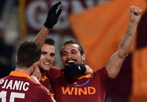Manchester City Incar Duo AS Roma