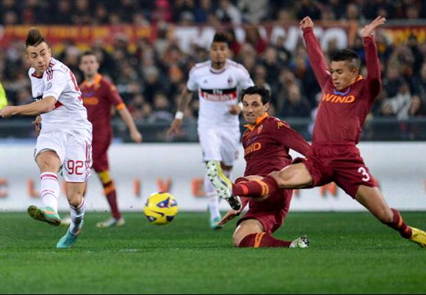 Laporan Pertandingan: AS Roma 4-2 AC Milan