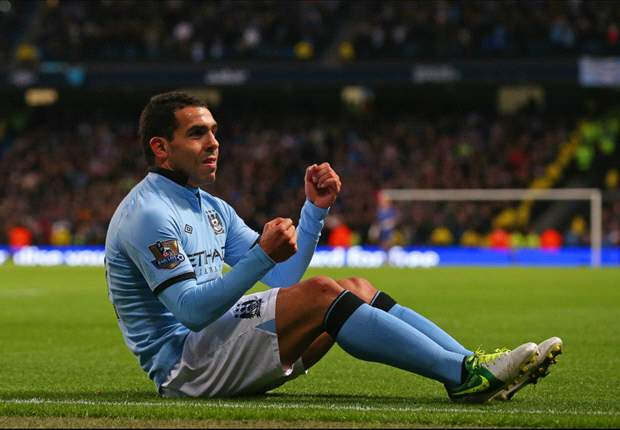 TEAM NEWS: Tevez, Nasri & Dzeko start Manchester City's FA Cup tie against Barnsley