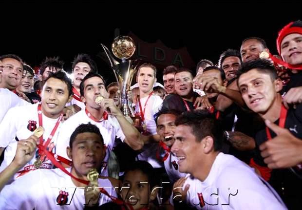 Alajuelense campeón del fútbol de Costa Rica