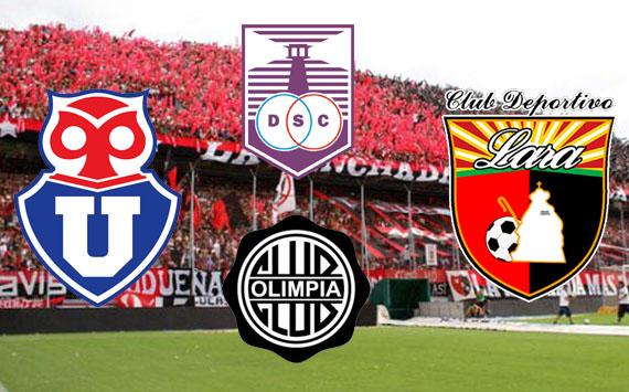 Los rivales de Newell's en la Copa Libertadores 2013