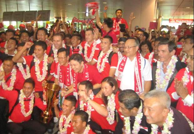 Victorious Lions return home to roaring welcome