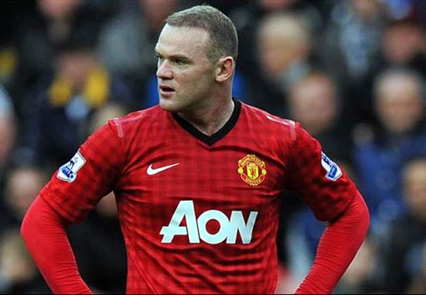 Injured Rooney to miss Manchester United's clash with Liverpool