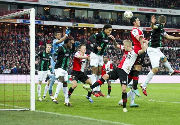 Pelle ook na winterstop bij Feyenoord