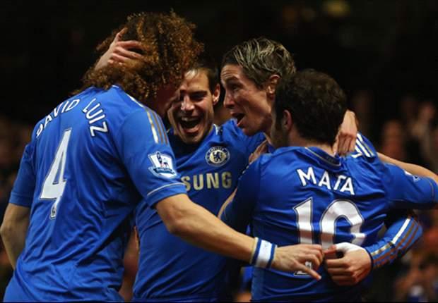 Chelsea 8-0 Aston Villa: Torres sparks Blues goal glut