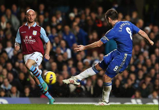 Premier League, 18ª giornata - Chelsea esagerato, 8 schiaffi all'Aston Villa! Michu ferma lo United, Barry salva il Man City al 90'. E' bagarre in Zona Champions, quattro squadre a quota 30 punti