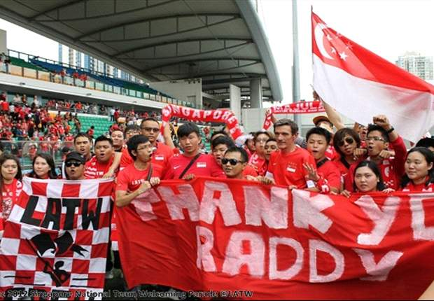 Singapore fans thank Raddy for contributions following his departure