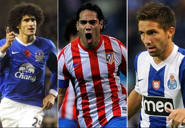 Los objetivos del Chelsea para el 2013
