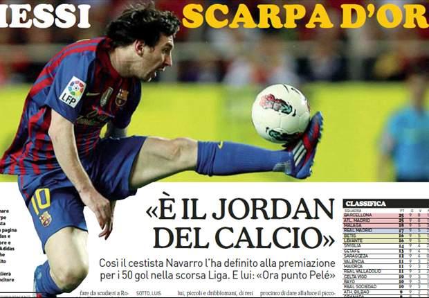 ESP, Barça - Messi, retour aux sources