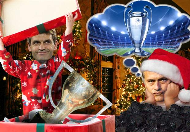 Papá Noel le regala media Liga a Tito y carbón a Mourinho