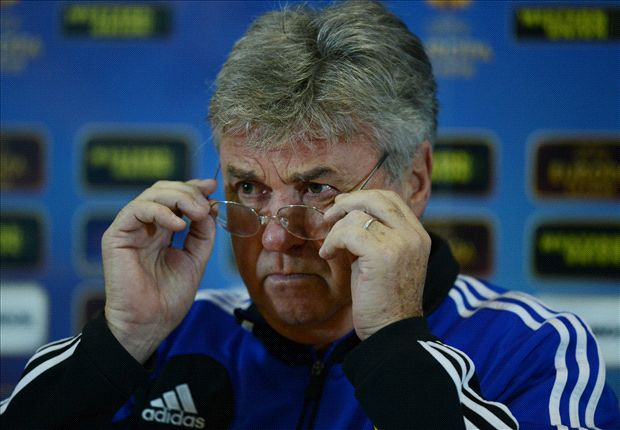 Australia national team congratulate Hiddink on Chelsea appointment