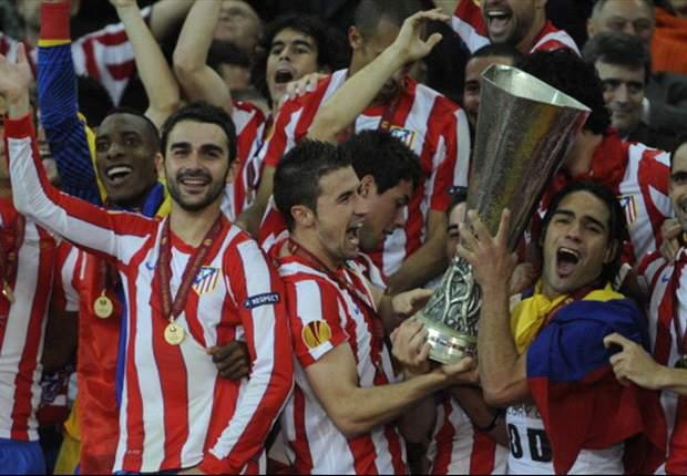 El Atlético de Madrid brinda por otro años de éxitos similar a 2012