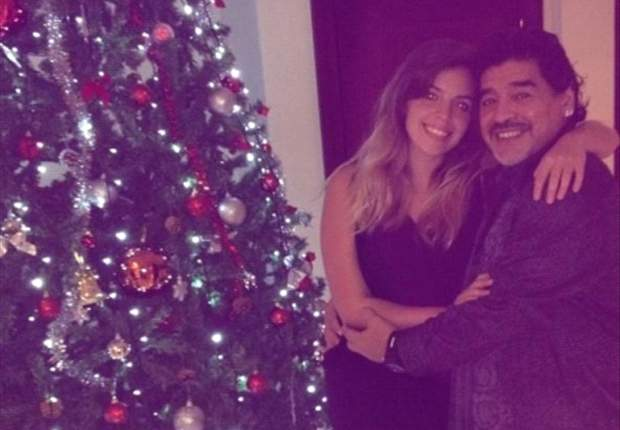 La Navidad de Maradona en Dubai