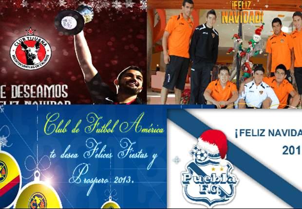 La Liga MX manda sus deseos navideños