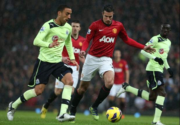 Manchester United wint in blessuretijd