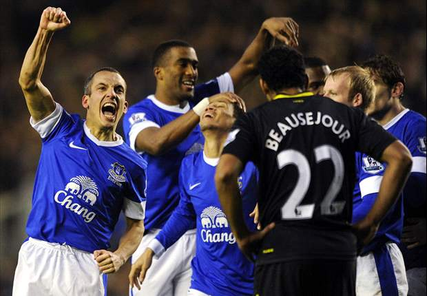 Everton 2-1 Wigan: Osman & Jagielka plunge visitors further into trouble