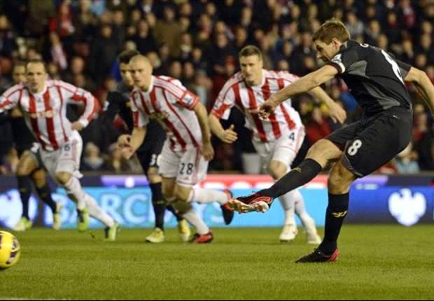 Spitsenkoppel Stoke troeft Liverpool af