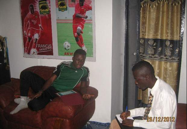 """""""I'll catch the eye of the Ghana coach when the Egyptian league resumes"""" - Francis Akwaffo"""