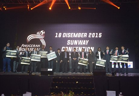 JDT conquer National Football Awards