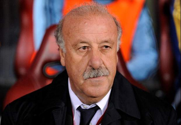 Spain are not anxious at all, insists Del Bosque