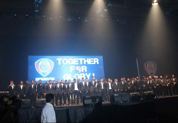 Launching Arema ISL, Tema 'Together For Glory'
