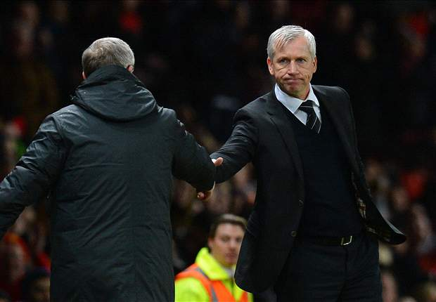Sir Alex slams 'wee club' Newcastle & Pardew: He shoves a ref then criticises me... unbelievable