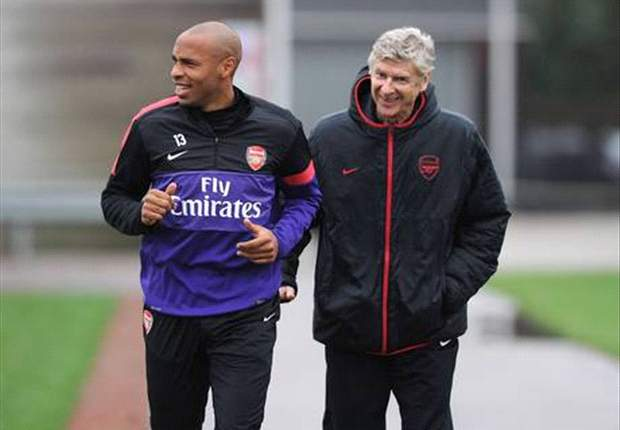 Thierry Henry & Arsene Wenger