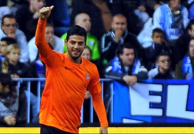Carlos Vela ya es el séptimo mejor goleador en España