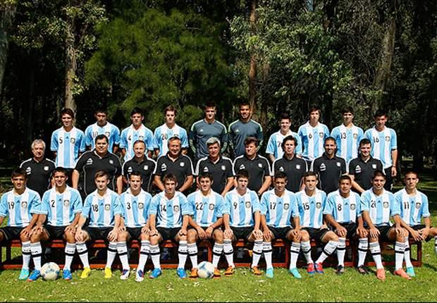 Los 22 convocados de Argentina para el Sudamericano sub-20
