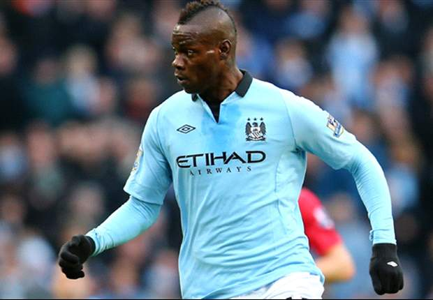 Sheikh Mansour favourite Balotelli is likely to stay at Manchester City, says Mancini