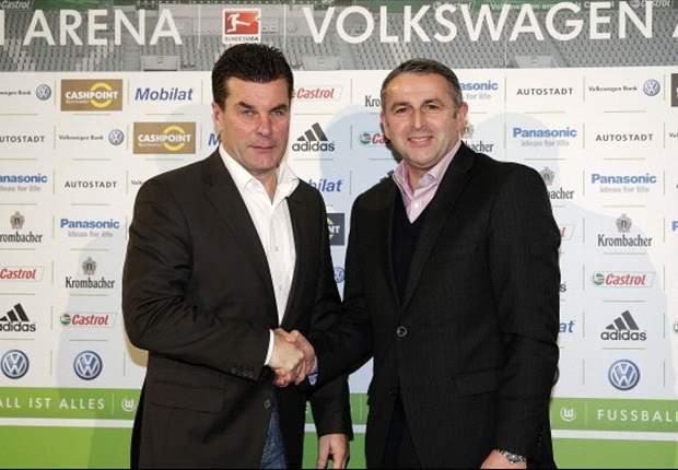 VfL Wolfsburg im Mittelmaß: Hecking und Allofs bedient